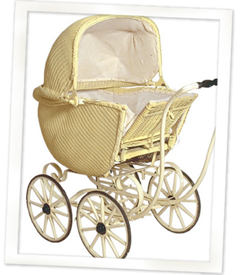 Stork Snapshots Baby Carriage Photo