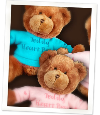 Teddy Heartbeat Bear Image
